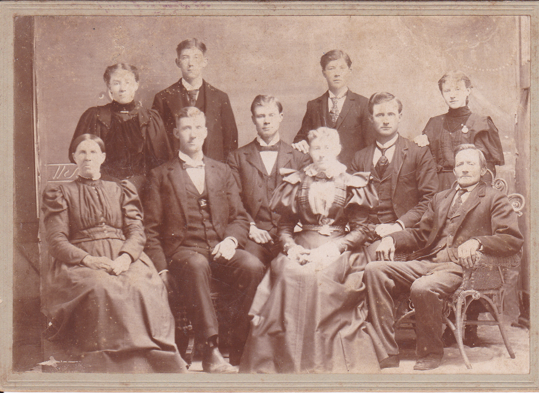 August and Florentine Schuckman Family.